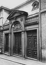 Altonaer Synagoge (Eingang)