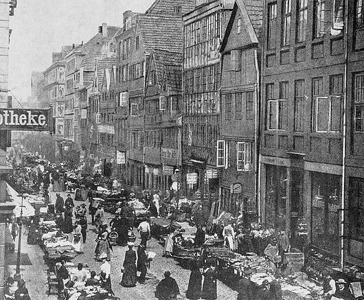 »Judenbörse« Elbstraße (Foto)