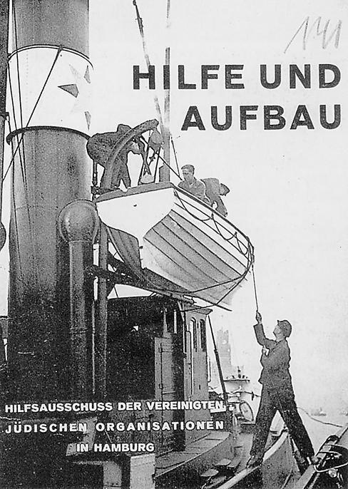 Titelblatt Broschüre Hilfsausschuss