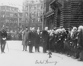Kriegsveteranen (Begrüßung Reichspräsident)