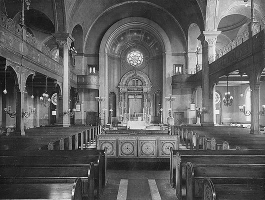 Synagoge Kohlhöfen (Innenraum)
