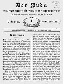 Der Jude (Periodische Blätter)